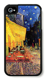 The Cafe Terrace on the Place Du Forum Arles at Night iPhone 4/4S Case by Vincent van Gogh