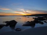Sunset Over Dog's Bay, Near Roundstone, COnnemara, County Galway, Ireland Photographic Print by Green Light Collection