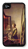 Girls at the Open Window iPhone 4/4S Case by Jan Vermeer