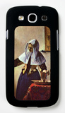 Young Woman with a Water Jug at the Window Galaxy S III Case by Jan Vermeer