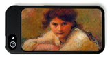 Three Women iPhone 5 Case by Jan Theodore Toorop