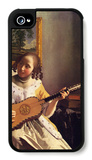 The Guitar Player iPhone 4/4S Case by Jan Vermeer