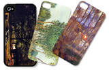 Tress in Landscape iPhone 4/4S Case Set by Alfred Sisley