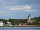 Town View From Vaike Viik Lake, Haapsalu, Estonia Photographic Print by Green Light Collection