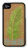 Block Print Palm VII iPhone 4/4S Case by Chariklia Zarris