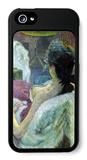 Resting Model iPhone 5 Case by Henri de Toulouse-Lautrec