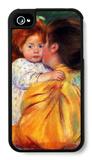 Maternal Kiss 1896 iPhone 4/4S Case by Mary Cassatt
