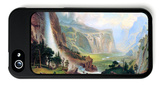 Half Dome in Yosemite iPhone 5 Case by Albert Bierstadt