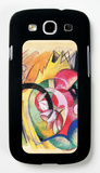 Colored Flowers Galaxy S III Case by Franz Marc