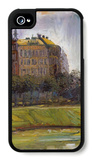 On the Danube Canal iPhone 4/4S Case by Richard Gerstl