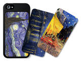 Starry Nights and Café Terrace iPhone 5/5S Case Set by Vincent van Gogh