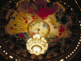 France, Paris, Ceiling Photographic Print by Green Light Collection