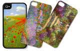Floral Still Life iPhone 4/4S Case Set by Paul von Szinyei-Merse