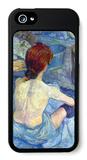 Rousse the Toilet iPhone 5 Case by Henri de Toulouse-Lautrec