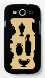 Urns in Silhouette II Galaxy S III Case by  Vision Studio