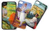 Women iPhone 4/4S Case Set by Frederic Bazille