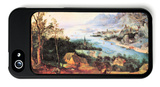 River Landscape with a Sower iPhone 5 Case by Pieter Bruegel the Elder