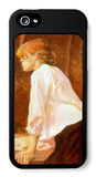 The Laundress iPhone 5 Case by Henri de Toulouse-Lautrec