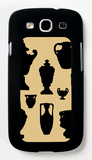 Urns in Silhouette I Galaxy S III Case by  Vision Studio