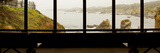 Coastal Viewed From a Shed at Mendocino Coast Botanical Gardens Photographic Print by Green Light Collection