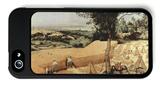 The Grain Harvest iPhone 5 Case by Pieter Bruegel the Elder
