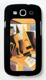 Guitar Galaxy S III Case by Juan Gris