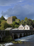 15 Arch Bridge Over the River Suir And 12th Century Castle Photographic Print by Green Light Collection