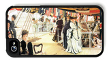 Ball on Board iPhone 4/4S Case by James Tissot