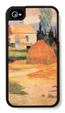Farmhouses in Arles iPhone 4/4S Case by Paul Gauguin
