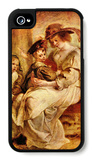 Helene Fourment with Two of Her Children iPhone 4/4S Case by Peter Paul Rubens