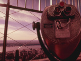 Binocular New York NY USA Photographic Print by Green Light Collection