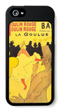 Moulin Rouge La Goulue iPhone 5 Case by Henri de Toulouse-Lautrec