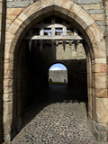 Portcullis And Gateway To the Keep Photographic Print by Green Light Collection