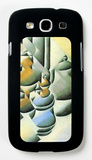 Still Life with Oil Lamp Galaxy S III Case by Juan Gris