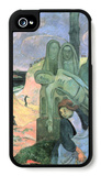 Green Christ iPhone 4/4S Case by Paul Gauguin