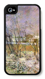 Snow in Rue Carcel iPhone 4/4S Case by Paul Gauguin