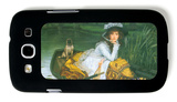 A Young Woman in a Boat Galaxy S III Case by James Tissot