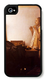 The Pearl Necklace iPhone 4/4S Case by Jan Vermeer