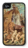 The Medici's Arriving in Marseille, Sketch iPhone 4/4S Case by Peter Paul Rubens