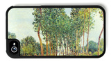 Banks of the Loing in Moret iPhone 4/4S Case by Alfred Sisley