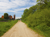 Lighthouse And Polder Museum on a Landscape Photographic Print by Green Light Collection