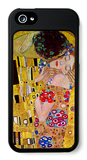 The Kiss iPhone 5 Case by Gustav Klimt