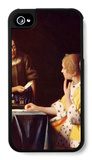 Mistress and Maid iPhone 4/4S Case by Jan Vermeer