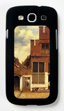 The Little Street Galaxy S III Case by Jan Vermeer