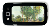 Banks of the Loing in Moret Galaxy S III Case by Alfred Sisley