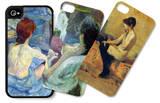 Nude iPhone 4/4S Case Set by Henri de Toulouse-Lautrec