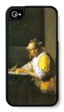 Woman in Yellow iPhone 4/4S Case by Jan Vermeer