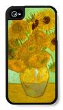 Twelve Sunflowers iPhone 4/4S Case by Vincent van Gogh