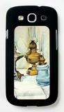 Still Life with Three Lamps Galaxy S III Case by Juan Gris