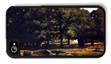Chestnut Avenue in La Cellesaintcloud iPhone 4/4S Case by Alfred Sisley